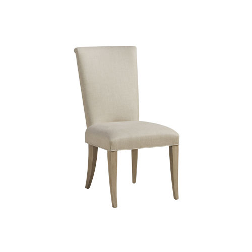 Malibu Warm Taupe Serra Upholstered Side Chair