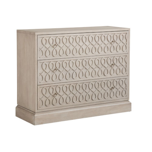 Malibu Warm Taupe 54-Inch Adamson Hall Chest