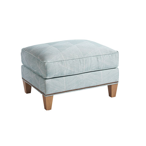 Upholstery Green Watermill Ottoman
