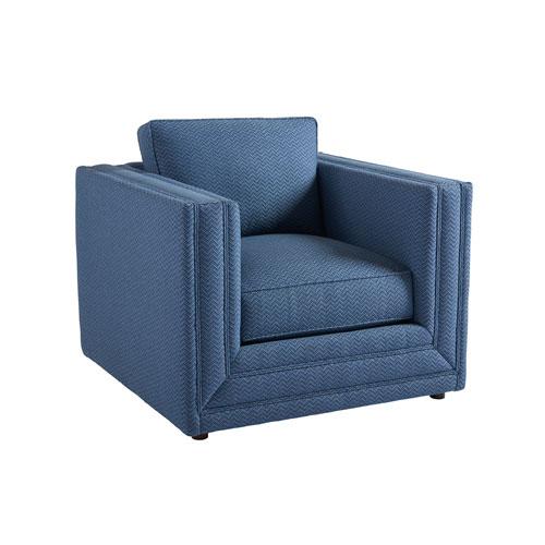 Upholstery Blue Mercer Chair
