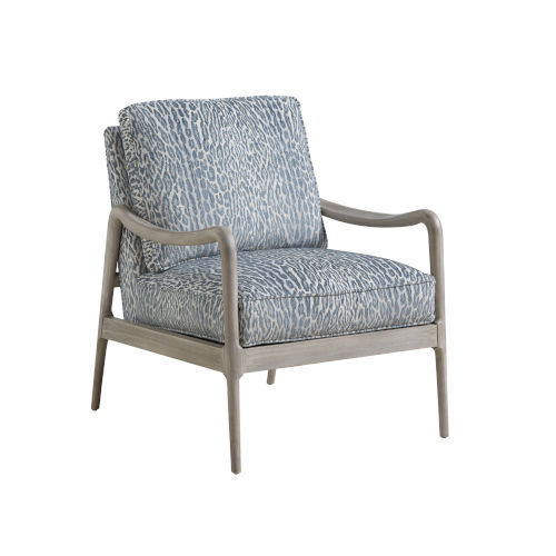 Upholstery Gray Leblanc Chair