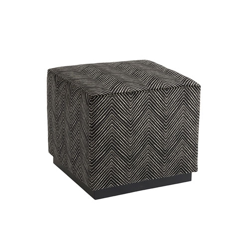 Upholstery Brown Colby Ottoman