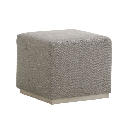 Upholstery Gray 22-Inch Colby Ottoman