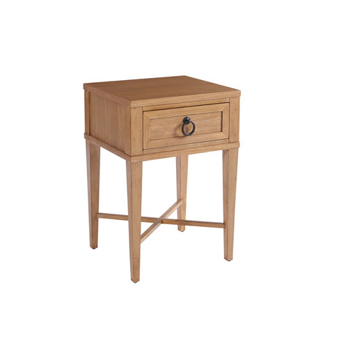 Newport Brown Clay Night Table
