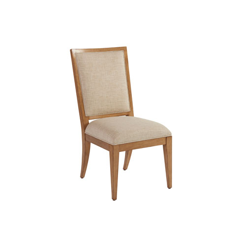 Newport Beige and Brown Eastbluff Upholstered Side Chair