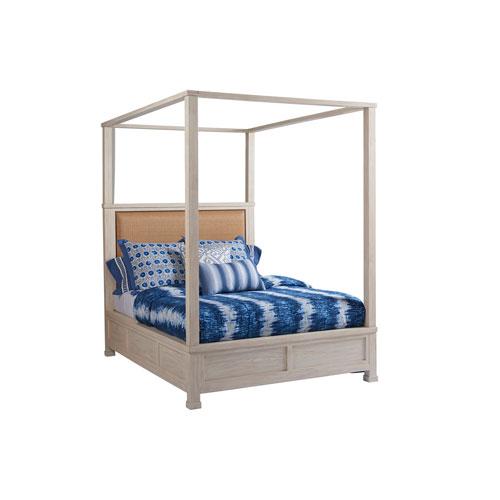 Newport Sailcloth Shorecliff Queen Canopy Bed