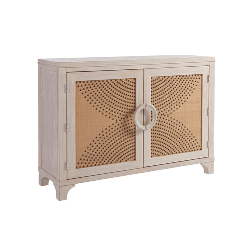 Newport Sailcloth Lido Isle Nail head Hall Chest