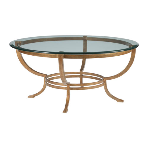 Metal Designs Renaissance Andress Round Cocktail Table