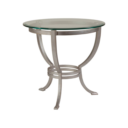 Metal Designs Argento Andress Round End Table
