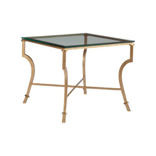 Metal Designs Renaissance Syrah Square End Table