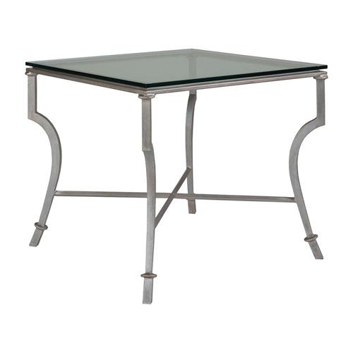 Metal Designs Argento Syrah Square End Table