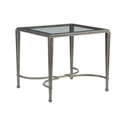 Metal Designs St. Laurent Sangiovese Rectangular End Table
