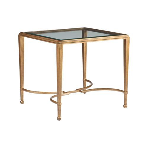 Metal Designs Renaissance Sangiovese Rectangular End Table