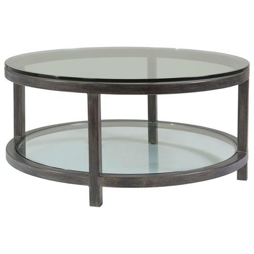 Metal Designs St. Laurent Per Se Round Cocktail Table
