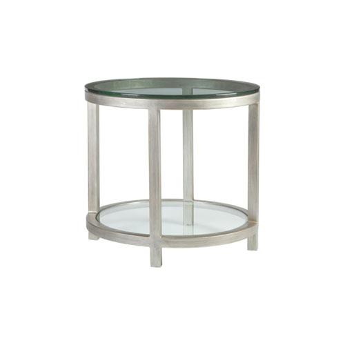 Metal Designs Argento Per Se Round End Table