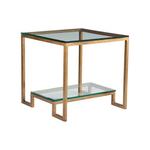 Metal Designs Renaissance Bonaire Square End Table