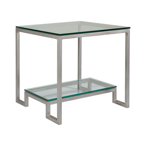 Metal Designs Argento Bonaire Square End Table