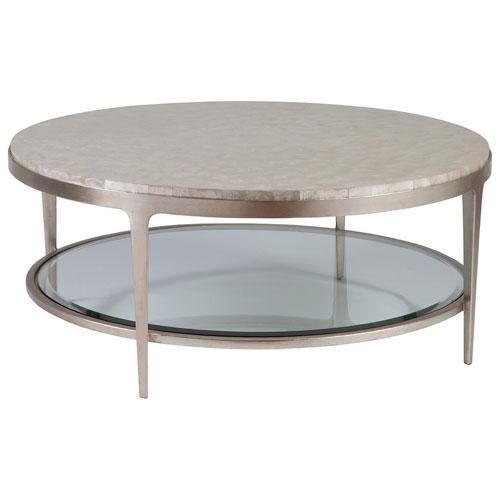 Signature Designs Champagne Gravitas Round Cocktail Table