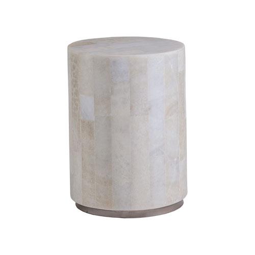 Signature Designs Light Gray Onyx Greta Round Spot Table