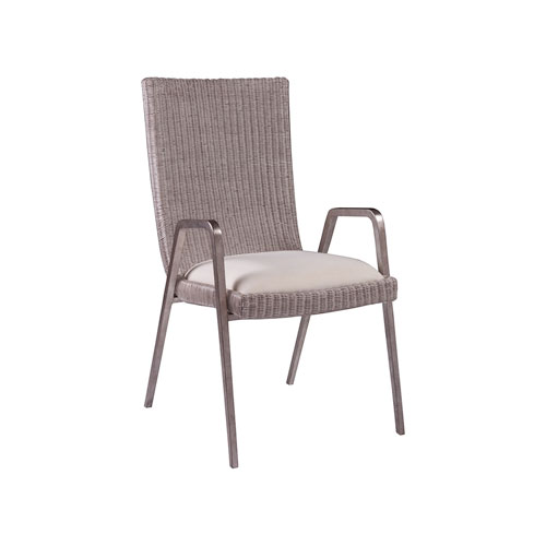 Signature Designs Silver Leaf Iteration Arm Chair