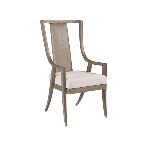 Cohesion Program Grigio Mistral Woven Arm Chair