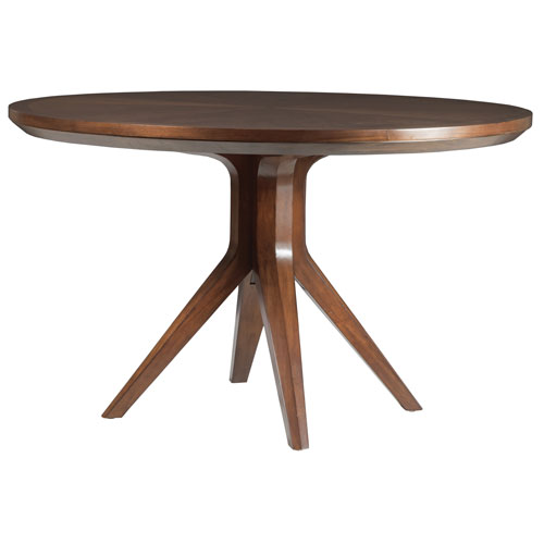 Signature Designs Walnut Beale Round Dining Table