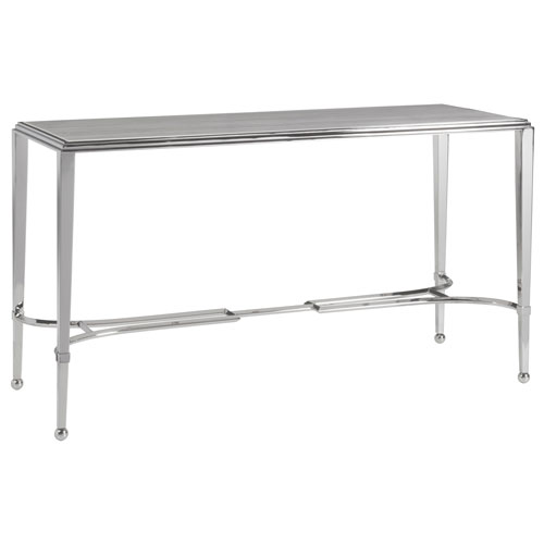 Signature Designs Stainless Steel Sangiovese Console with Metal Top