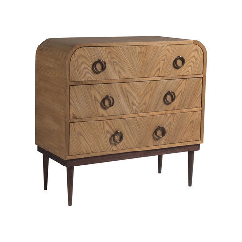 Signature Designs Honey and Brass Phoebe Hall Chest