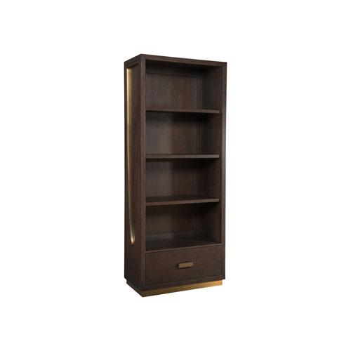Signature Designs Dark Oak Verbatim Bookcase