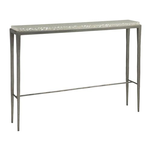 Signature Designs Antique Silver Brilliante Console Table