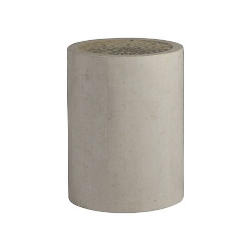 Signature Designs Light Gray Mimi Round Spot Table