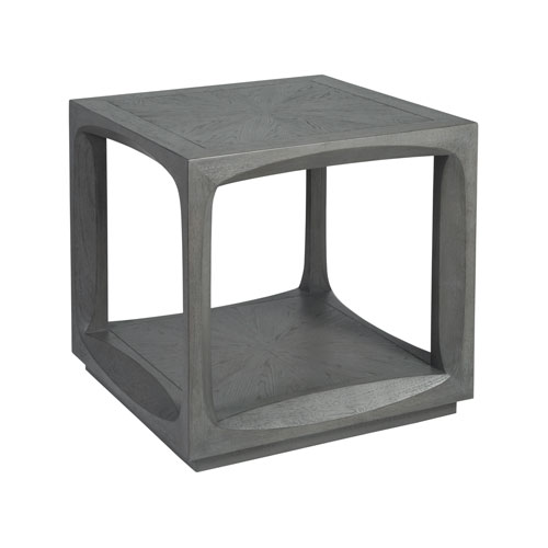Signature Designs Gray Appellation Square End Table