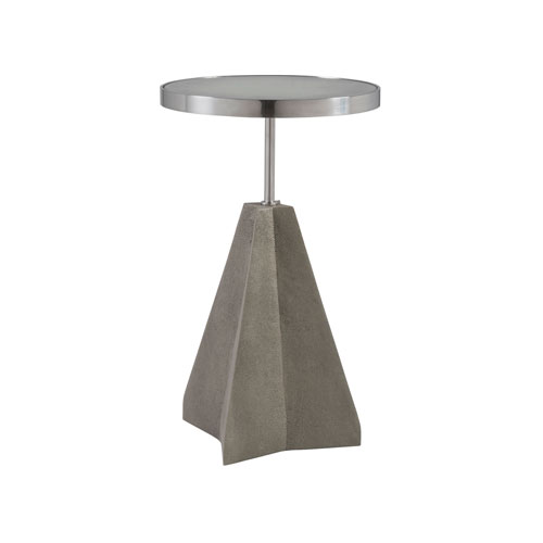 Signature Designs Warm Gray Ascension Spot Table