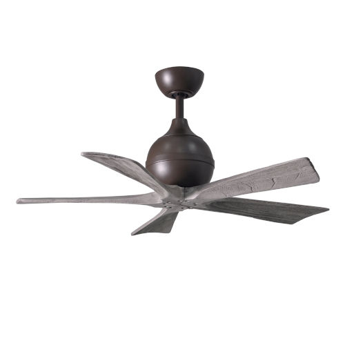 Irene  42-Inch Ceiling Fan with Five Barnwood Tone Blades