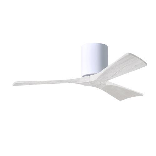 Irene-3H Gloss White 42-Inch Outdoor Ceiling Fan