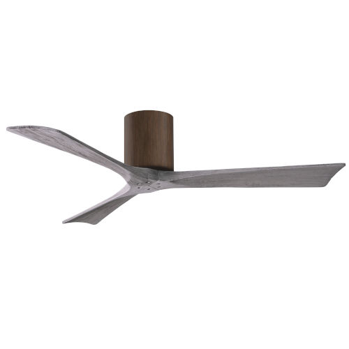 Irene-3H Walnut and Barnwood 52-Inch Outdoor Ceiling Fan