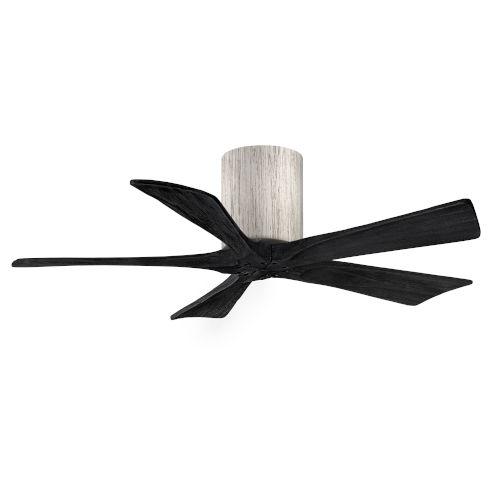 Irene-5H Barnwood and Matte Black 42-Inch Outdoor Ceiling Fan