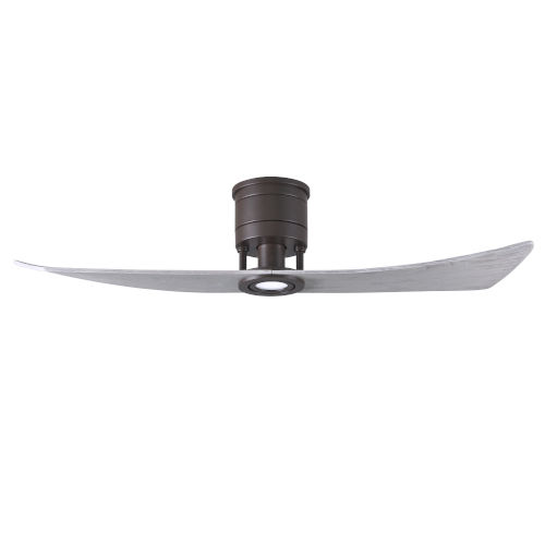 Lindsay Textured Bronze and Barnwood 52-Inch Ceiling Fan with LED Light Kit