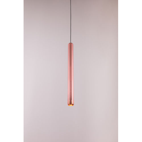 Brixton Copper LED One-Light Mini-Pendant
