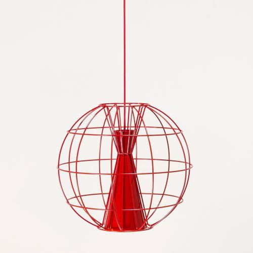 Latitude Red LED One-Light Pendant