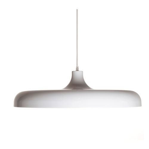 Portobello White One-Light Pendant