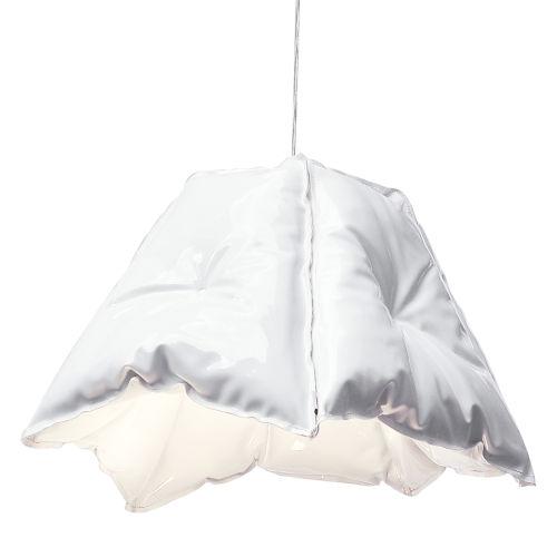 Gloss White LED One-Light Pendant