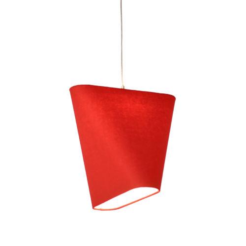 MNM Red LED One-Light Pendant