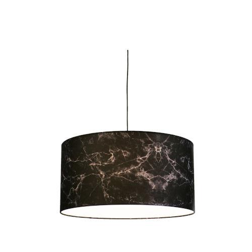 Black Marble LED One-Light Pendant