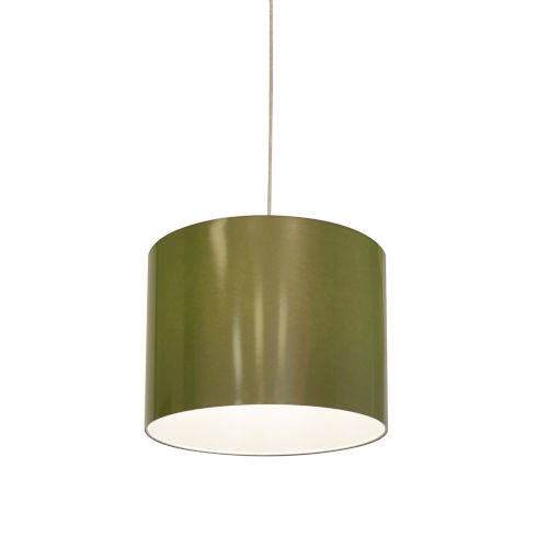 Green LED One-Light Pendant with 3000K