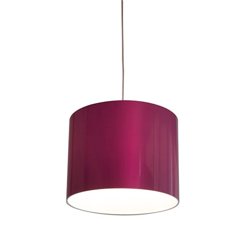 Pink LED One-Light Pendant with 3000K