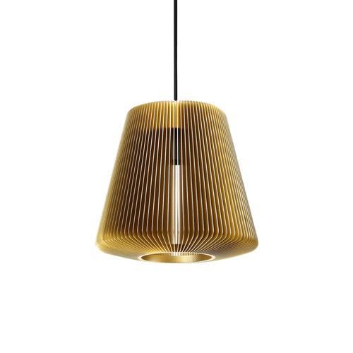 Bramah Pale Gold One-Light Pendant