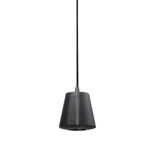 Bramah Gray One-Light Mini Pendant