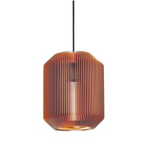 Joseph Copper 9-Inch One-Light Mini Pendant
