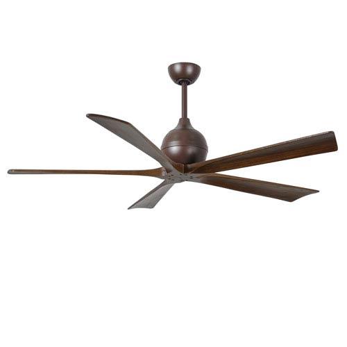 Irene Five Blade Textured Bronze 60-Inch Ceiling Fan